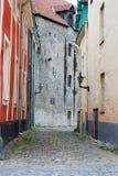 Alte Stadt Tallinns Stockfotos