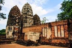Alte Stadt in Thailand Lizenzfreies Stockfoto