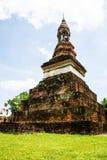 Alte Stadt in Thailand Lizenzfreies Stockbild