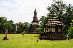 Alte Stadt in Thailand Stockfoto
