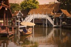ALTE STADT THAILANDS BANGKOK SAMUT PRAKAN Stockbilder