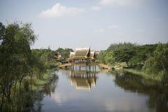 ALTE STADT THAILANDS BANGKOK SAMUT PRAKAN Lizenzfreie Stockfotografie