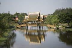 ALTE STADT THAILANDS BANGKOK SAMUT PRAKAN Lizenzfreies Stockbild