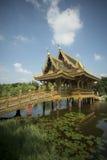 ALTE STADT THAILANDS BANGKOK SAMUT PRAKAN Stockbild