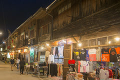 ALTE STADT THAILANDS ISAN CHIANG KHAN Stockfoto