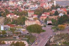 Alte Stadt Tiflis Stockbilder