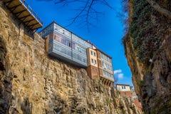 Alte Stadt in Tiflis Stockbild