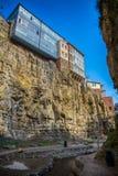 Alte Stadt in Tiflis Lizenzfreie Stockbilder