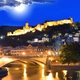 Alte Stadt Tifliss Stockbild