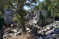 Alte Stadt-Tor von Termessos Stockbild