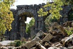 Alte Stadt-Tor von Termessos Lizenzfreie Stockbilder