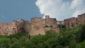 Alte Stadt Toskana Italien stock footage