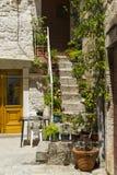 Alte Stadt Trogir, Kroatien - 19. Juli 2017 Lizenzfreies Stockfoto