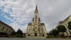 Alte Stadt in Ungarn stock video footage