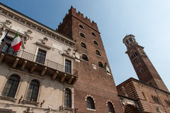 Alte Stadt Veronas Stockfotos