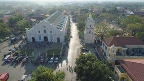 Alte Stadt Vigan in den Philippinen lizenzfreie stockfotos