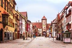 Alte Stadt Villingen Stockfoto