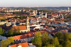 Alte Stadt Vilnius Stockfoto