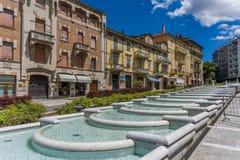 Alte Stadt von Acqui Terme Lizenzfreie Stockfotografie