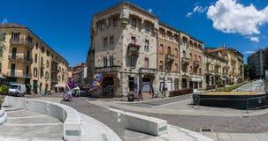 Alte Stadt von Acqui Terme Stockfotografie