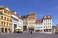 Alte Stadt von Altenburg Stockfotos