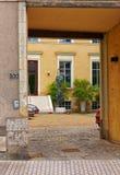 Alte Stadt von Angers in Loire Valley in Frankreich Stockfotos