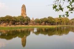 Alte Stadt von Ayutthaya Lizenzfreie Stockfotos