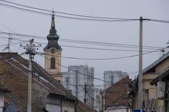 Alte Stadt von Belgrad Lizenzfreies Stockbild