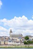 Alte Stadt von Blois im Loire Valley Stockfoto