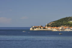 Alte Stadt von Budva, Montenegro Stockfoto