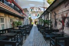 Alte Stadt von Bukarest, Lipscani-Bezirk Lizenzfreie Stockfotos