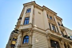 Alte Stadt von Bukarest, Lipscani-Bezirk Lizenzfreie Stockbilder