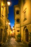 alte Stadt von Campobasso Lizenzfreie Stockfotos