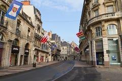 Alte Stadt von Dijon, Frankreich Stockfotos