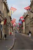 Alte Stadt von Dijon, Frankreich Stockfotografie