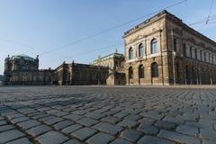 Alte Stadt von Dresden stockfotos