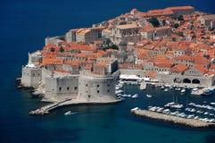 Alte Stadt von Dubrovnik Stockbild