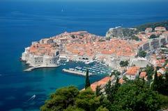 Alte Stadt von Dubrovnik Lizenzfreies Stockfoto
