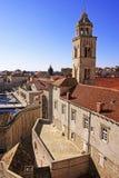 Alte Stadt von Dubrovnik lizenzfreie stockfotografie