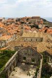 Alte Stadt von Dubrovnik Lizenzfreie Stockfotos