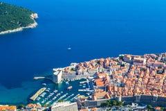 Alte Stadt von Dubrovnik, Kroatien Stockbild