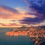 Alte Stadt von Dubrovnik, Kroatien lizenzfreie stockfotos