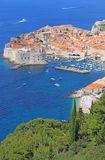 Alte Stadt von Dubrovnik, Kroatien stockfotografie