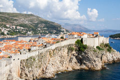 Alte Stadt von Dubrovnik, Kroatien lizenzfreies stockbild