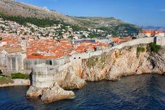 Alte Stadt von Dubrovnik in Kroatien Lizenzfreie Stockfotografie