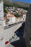 Alte Stadt von Dubrovnik, Kroatien Balkan, adriatisches Meer, Europa Karpaten, Ukraine, Europa Lizenzfreie Stockfotos