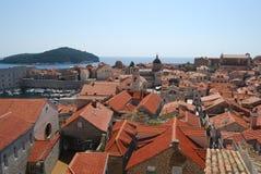 Alte Stadt von Dubrovnik, Kroatien Balkan, adriatisches Meer, Europa Karpaten, Ukraine, Europa Lizenzfreies Stockfoto