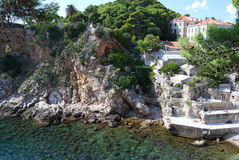 Alte Stadt von Dubrovnik, Kroatien Balkan, adriatisches Meer, Europa Karpaten, Ukraine, Europa Stockbild