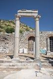Alte Stadt von Ephesus. Die Türkei Lizenzfreies Stockfoto