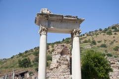 Alte Stadt von Ephesus. Die Türkei Lizenzfreie Stockbilder